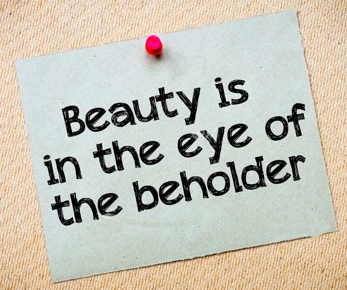 an analysis of beauty is in the eye of the beholder Dutton debunks the commonly accepted academic explanation of beauty as something in the culturally conditioned eye of the beholder by demonstrating that beauty, or aesthetic appreciation, in fact travels across cultures rather easily, hinting at some deeper, universal underpinning of what we find beautiful.